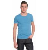 The GoodPeople Goodpeople t-shirt met korte mouwen blauw