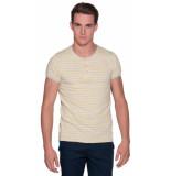 Scotch & Soda T-shirt met korte mouwen geel