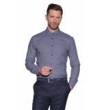 Hugo Overhemd met lange mouwen blauw