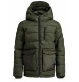 Jack & Jones Jorwayne puffer jacket jr groen