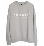 10 Days Sweatshirt 21-811 grijs
