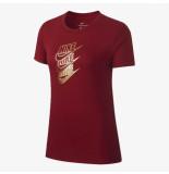 Nike W nsw tee stmt shine cd7427-677 rood