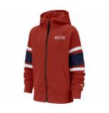 Nike B nk air hoodie fz bv3590-657 rood