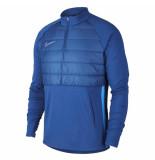 Nike M nk dry pad acd dril top ww bq7473-407 blauw