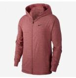 Nike Dri-fit mens full-zip trainin bq2864-677 rood