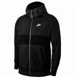 Nike M nsw ce hoodie fz winter bv3592-010 zwart