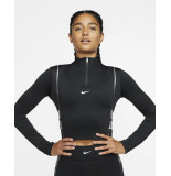 Nike W np cln hyperwarm hz ls tp bv5669-010 zwart