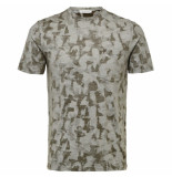Selected Homme camo tee groen