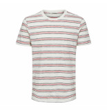 Selected Homme kasper tee wit