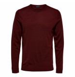Selected Homme Tower merino rood