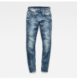 G-Star Midge zip mid skinny licht blauw