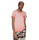 Scotch & Soda T-shirt met korte mouwen roze
