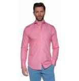 Blue Industry Casual overhemd met lange mouwen roze