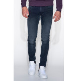 Replay Anbass power stretch jeans antraciet