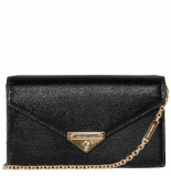 Michael Kors Grace md envelope clutch zwart