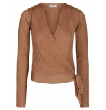 Pieces Vest 17100495 pcjenna bruin