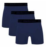 Bamboo Basics 3pack heren boxershorts blauw