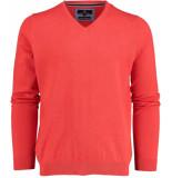 Basefield V-hals pullover 219013498/405 oranje
