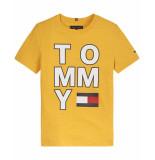 Tommy Hilfiger T-shirt kb0kb05428 geel