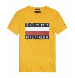 Tommy Hilfiger T-shirt kb0kb05547 geel