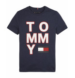 Tommy Hilfiger T-shirt kb0kb05428 blauw