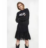 Alix 195846290 ladies knitted sweater zwart