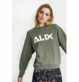 Alix 195846290 ladies knitted sweater groen
