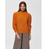 Selected Femme 16068696 slfpippa 3/4 knit o-neck b
