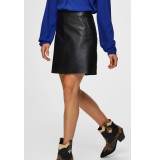 Selected Femme 16068539 slfnini mw leather skirt b