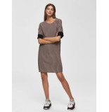 Selected Femme 16070849 slfabigail-tunni ss aop dress zwart
