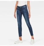 G-Star D05477-6553-89 arc 3d mid skinny jeans blauw