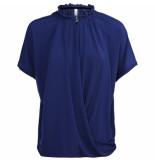Summum 3s4323-30080 short sleeve crepe jersey