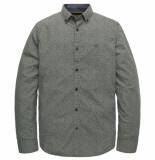 PME Legend Psi198202 6395 long sleeve shirt poplin print aloe groen
