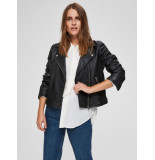 Selected Femme 16071712 slfkatie leather jacket b noos zwart