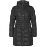 Geisha 98548-12 long jacket matching leopard zwart