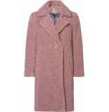 Geisha 98505-11 long teddy coat roze