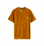 Scotch & Soda Scotch & soda velvet okergeel