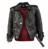 Reinders Leather jacket zwart
