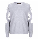 Supertrash Sweat taffic light grey melange