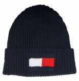 Tommy Hilfiger Big flag beanie am0am05152/cjm blauw