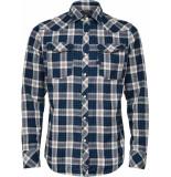 G-Star 3301 slim shirt l\s blauw
