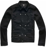 G-Star Scutar pop slim black jeans jacket zwart