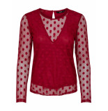 Only Velma l/s top rood