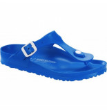 Birkenstock Slipper women gizeh bf scuba blue regular blauw