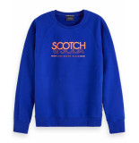 Scotch & Soda Pullover 153582 blauw