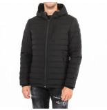 Moose Knuckles Fucrest mid th hoodie zwart