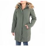 RRD Roberto Ricci Designs Winter long lady fur groen