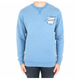 Tommy Hilfiger Light wahed crew blauw