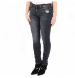 7 For All Mankind The skinny honest distressed zwart