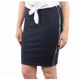 Tommy Hilfiger Tjw piping bodycon skirt blauw